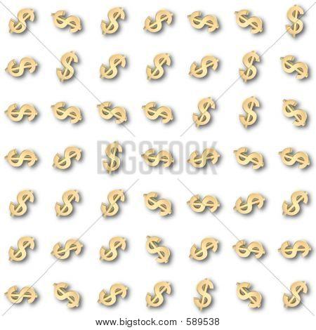 Dollar Symbol Patten