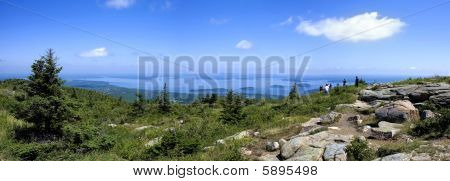 Cadillac Mountain,national Park Akadia,main,united States