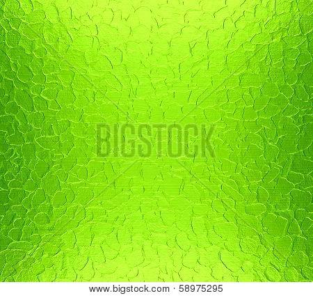 Green Metallic Stainless Steel Metal For Design poster