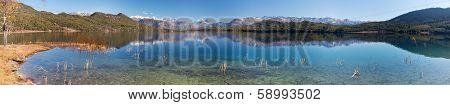 Panoramic View Of Rara Daha Or Mahendra Tal Lake - Rara Trek - West Nepal