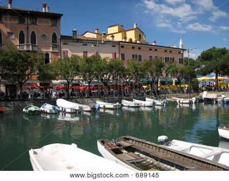 Desenzano Harbor