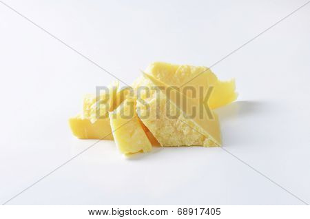pieces of pure parmesan cheese