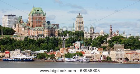 Chateau Frontenac of Old Quebec