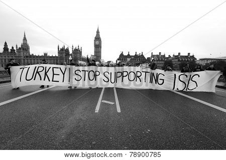 Turkey Stop Supporting Isis