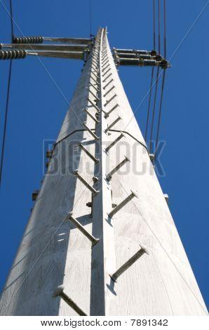 Metal Power Pole Detail