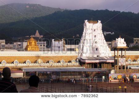 Tirupathy Temple Gopurams