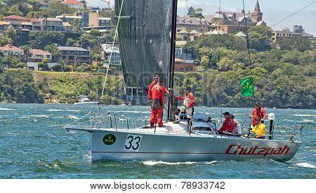 Sydney to Hobart yacht race 2014