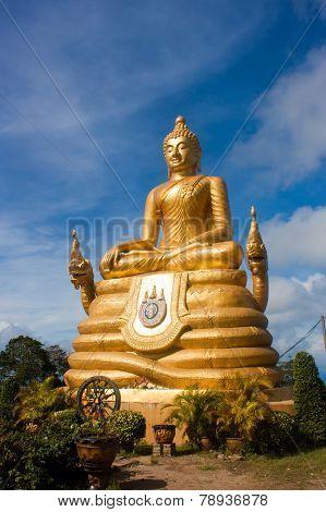 Buddha On The Island Phuket, Thailand