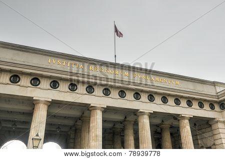 Hofburg Palace - Outer Castle Gate - Vienna, Austria
