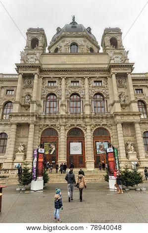 Kunsthistorisches Museum - Vienna, Austria