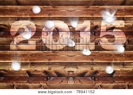 Wooden Board 2015 Snowballs