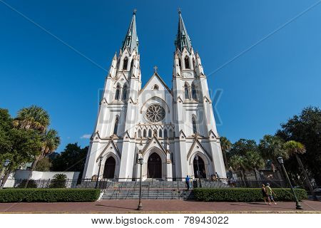 Cathedral of St. John the Baptist in Savannah, GA.