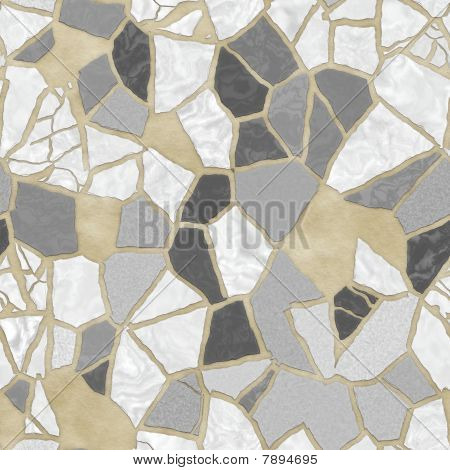Broken stone mosaic pattern background texture wallpaper illustration poster