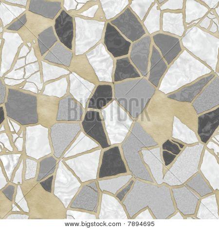 Broken stone mosaic pattern background texture wallpaper illustration poster