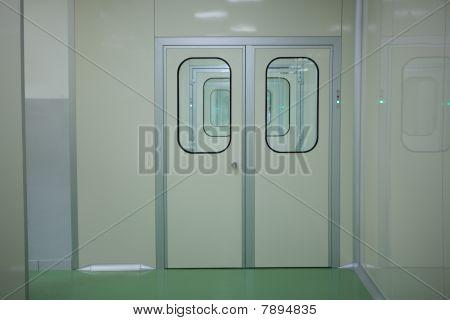 doors in laboratory