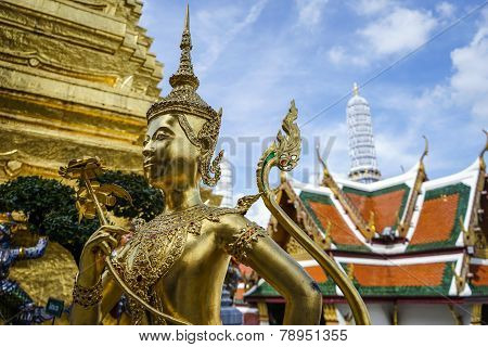 Kinnaree Sculpture