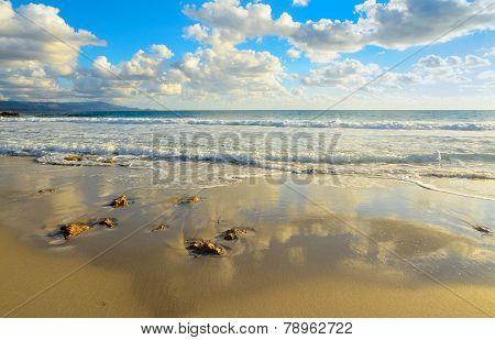 Le Bombarde Beach Under Clouds