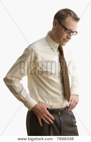 Disappointed Businessman - Isolated
