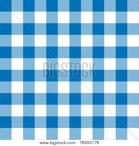 Two toned blue and white seamless checkered background