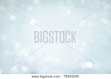 Defocused winter background