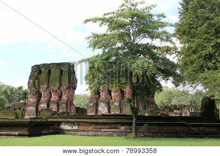 Royal Palace at Polonnaruwa