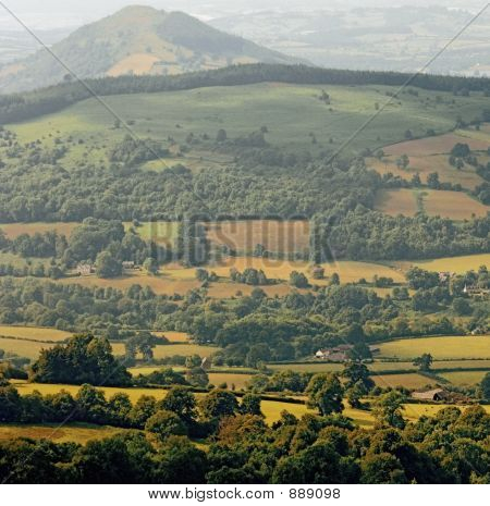 Scenic Landscape Country Countryside Scenery Hills National Park