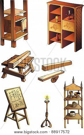 Evolution of furniture