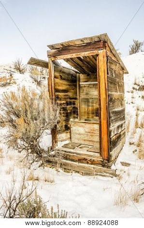 Outhouse With No Privacy