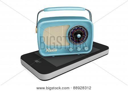 Rare Radio Over Mobile Phone