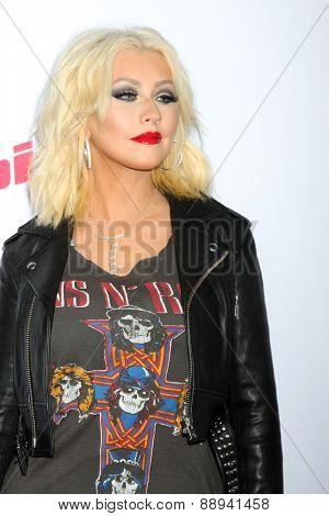 LOS ANGELES - FEB 23:  Christina Aguilera at the