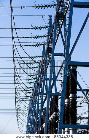 Converter Station, Substation Type In Electric System
