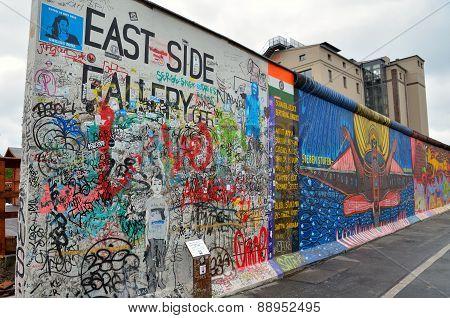 Berlin wall, Germany.