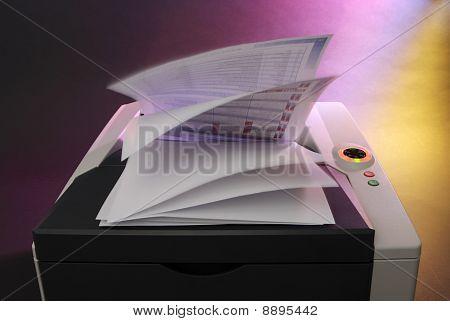 Office Laser color printer