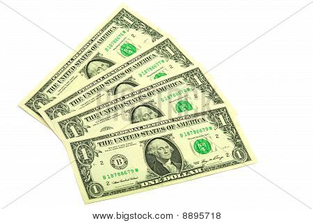 Banknotes In One Dollar