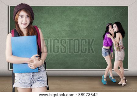 Confident Girl Mocked By Her Classmates