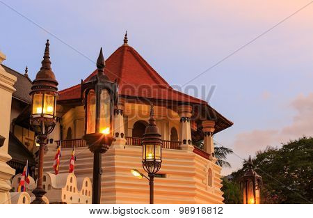 Tower of Temple of Tooth Relic, Kandy, Sri lanka
