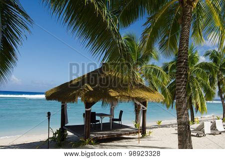 Pacific Island Hut