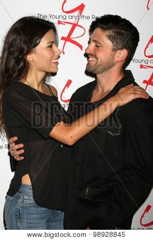 LOS ANGELES - AUG 15:  Sofia Pernas, Robert Adamson at the