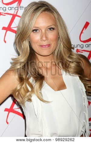 LOS ANGELES - AUG 15:  Melissa Ordway at the