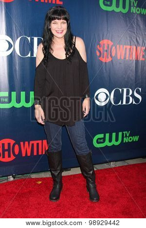 LOS ANGELES - AUG 10:  Pauley Perrette at the CBS TCA Summer 2015 Party at the Pacific Design Center on August 10, 2015 in West Hollywood, CA