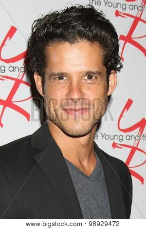 LOS ANGELES - AUG 15:  Miles Gaston Villanueva at the