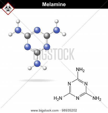 Melamine - Falsifier Of Protein Content