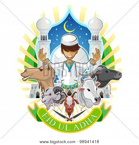 Eid Al Adha Festival Of Sacrifice Islam Religious Holiday