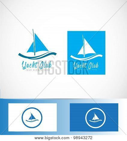 Yacht Yachting Boat Ship Logo