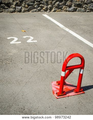 parking bay barrier