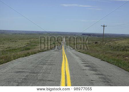 Road In Oklahoma