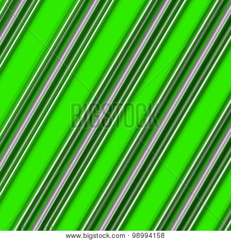 Candy Cane Pattern Green and White