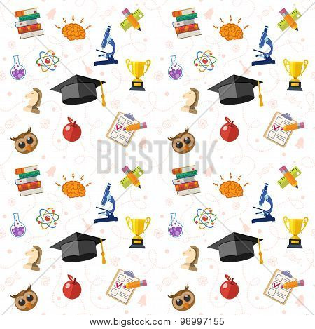 Education Seamless Pattern