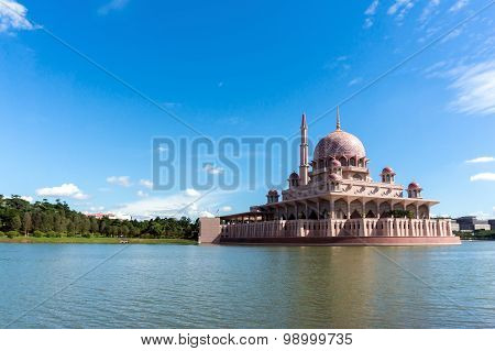 Mosque by the lakeside