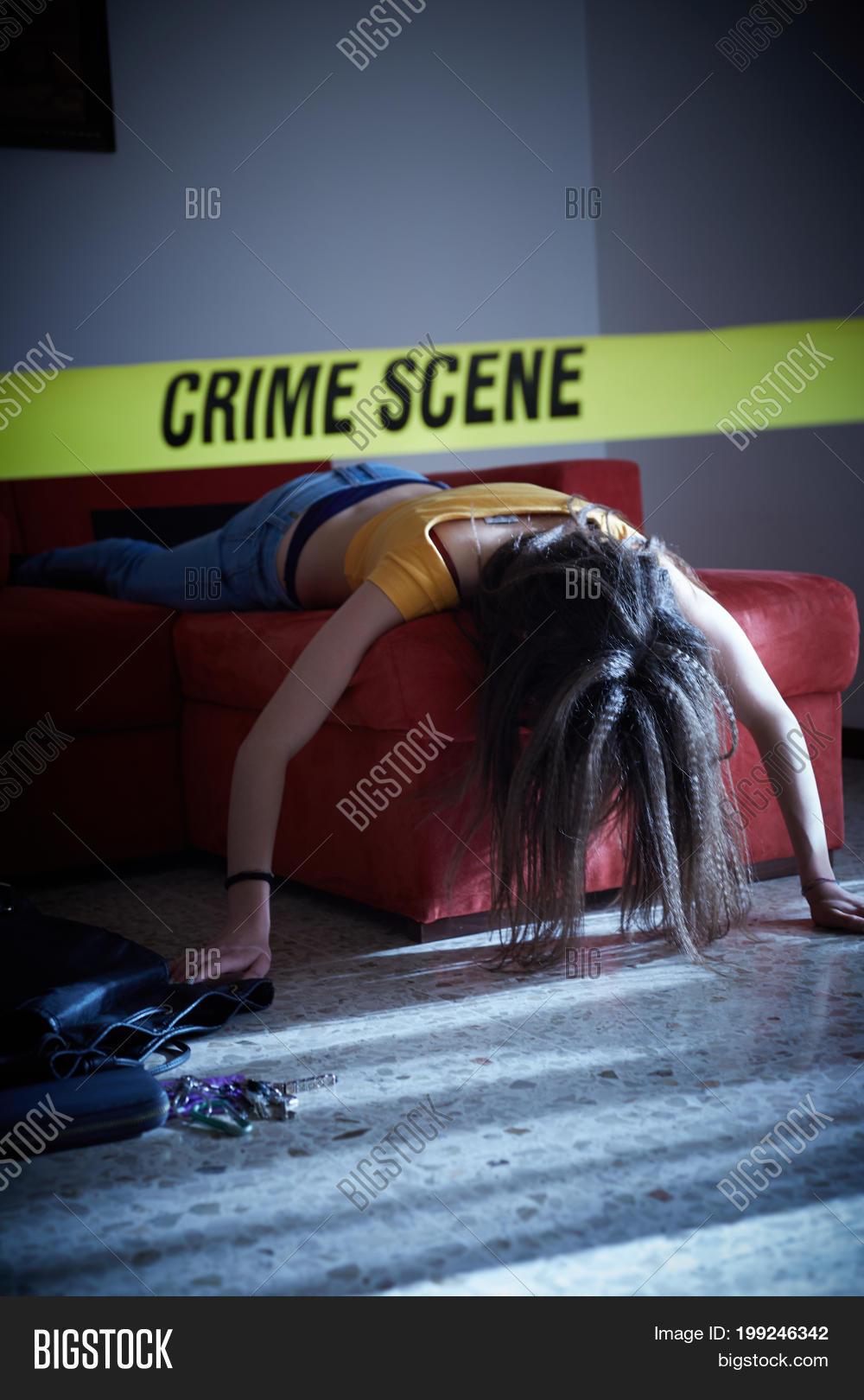 Crime Scene Simulation Image & Photo (Free Trial) | Bigstock